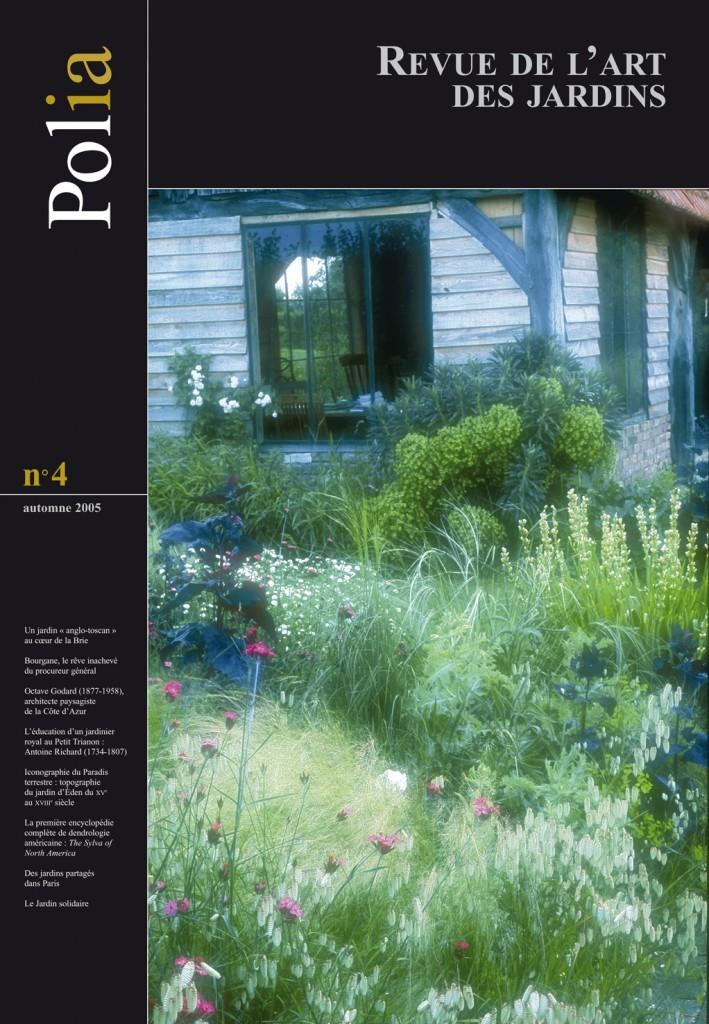 Revue jardins polia revue de l 39 art des jardins n 4 livre - Effroyables jardins histoire des arts ...