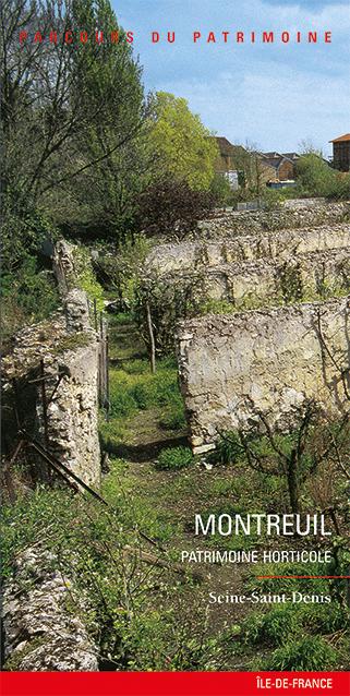 livre tourisme patrimoines de montreuil jardins murs  u00e0 p u00eaches
